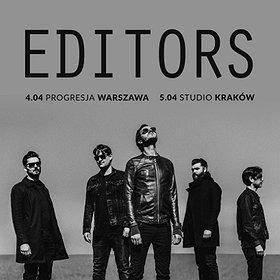 Bilety na EDITORS w Warszawie