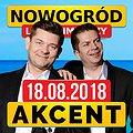 Koncert Zespołu Akcent w Nowogrodzie