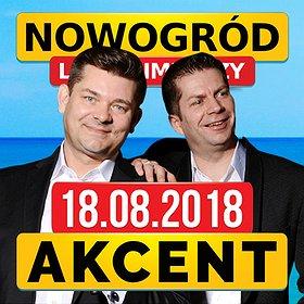 Koncerty: Koncert Zespołu Akcent w Nowogrodzie