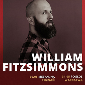 Koncerty: William Fitzsimmons - Warszawa