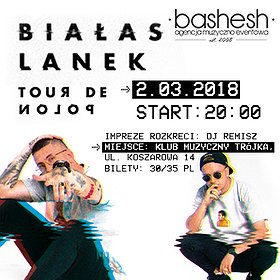 Koncerty: Białas x Lanek/ Tour de POLON/ Września