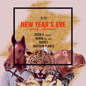 Bilety na Sylwester SQ New Years Eve pres. Party Animals!