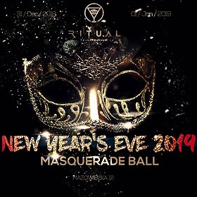 Sylwester 2018/2019: SYLWESTER 2019 W RITUAL CLUB - MASQUERADE BALL