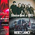 Koncerty: CREE & REBELIANCI - Niezwykłe Zaduszki Rockowe, Zabrze