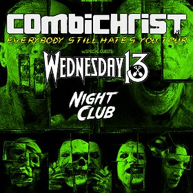 Koncerty: Combichrist / Wednesday 13 - Wrocław