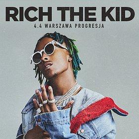 Hip Hop / Reggae:  Rich the Kid @Warszawa, Progresja