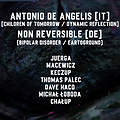TFR.IMPORT #4 invites ANTONIO DE ANGELIS // NON REVERSIBLE