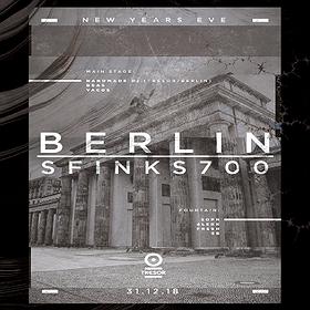 Sylwester 2018/2019: NYE 18/19: Berlin - Sfinks700 feat. Handmade