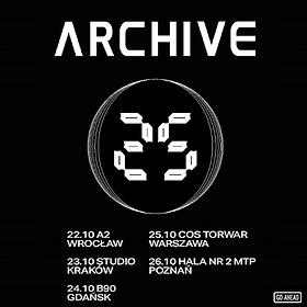 Koncerty: Archive - Warszawa