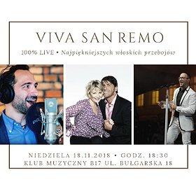 Koncerty: VIVA SAN REMO