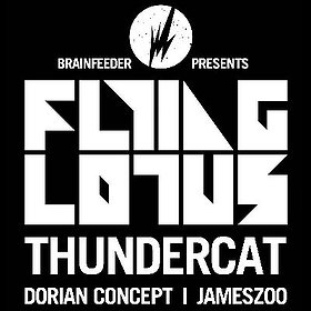 Koncerty: Brainfeeder Showcase / Flying Lotus, Thundercat