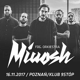 Koncerty: MIUOSH x FDG. Orkiestra 16.11 // Klub 9stóp // Poznań