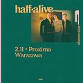 Pop / Rock: half alive, Warszawa