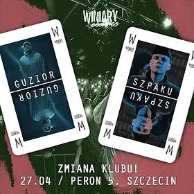 Koncerty: Guzior + Szpaku - Szczecin