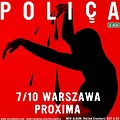 Koncerty: Poliça, Warszawa