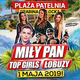 Disco: Wielka Majówka 2019 na Plaży Patelnia