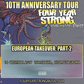 Koncerty: Four Year Strong