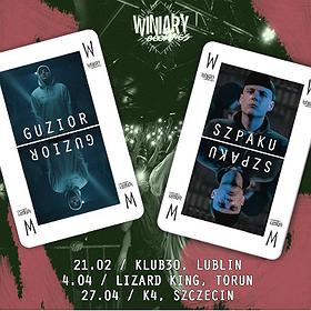 Koncerty: Guzior + Szpaku - Toruń