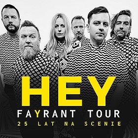 Koncerty: HEY FAYRANT TOUR - WROCŁAW