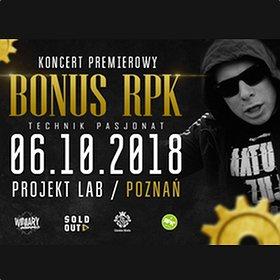 "Koncerty: Bonus RPK - koncert premierowy ""Technik Pasjonat"""