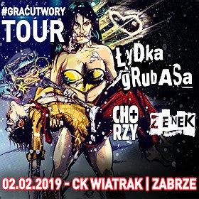 Koncerty: ŁYDKA GRUBASA + ZENEK + CHORZY
