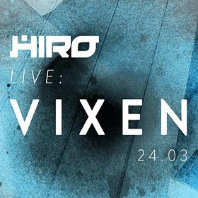 Koncerty: HIRO Live: VIXEN