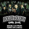 Hard Rock / Metal: Booze & Glory + Giuda, The Analogs  - Warszawa, Warszawa
