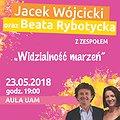 Koncerty: JACEK WÓJCICKI I BEATA RYBOTYCKA - WIDZIALNOŚĆ MARZEŃ, Poznań