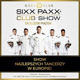Imprezy: Sixx Paxx - Show Najlepszych Tancerzy w Europie!