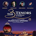 Koncerty: The 3 Tenors & Soprano - Włoska Gala Operowa - Warszawa, Warszawa