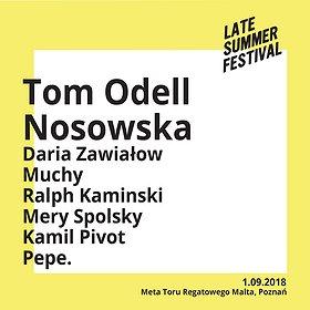 Koncerty: Late Summer Festival - PŁYTA