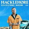 Koncerty: Macklemore, Warszawa