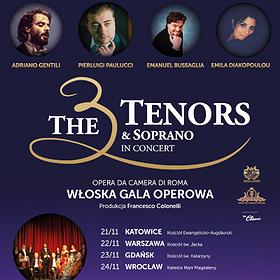 The 3 Tenors & Soprano - Gdańsk