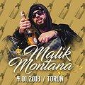 Koncerty: Malik Montana w Toruniu, Toruń