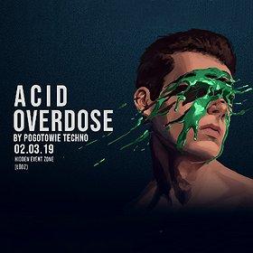 Imprezy: Pogotowie Techno // Overdose