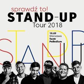 Bilety na Sprawdź to! Stand-up Tour 2018 - Warszawa