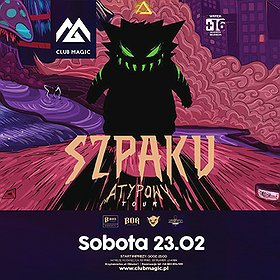 Concerts: Szpaku Atypowy Tour + after party