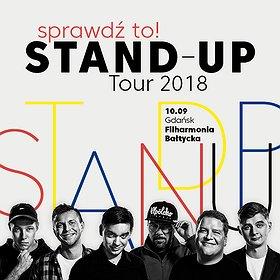 Bilety na Sprawdź to! Stand-up Tour 2018 - Gdańsk