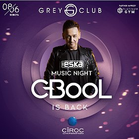 Muzyka klubowa: Eska Music Night - C-BooL is back!