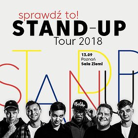 Stand-up: Sprawdź to! Stand-up Tour 2018 - Poznań