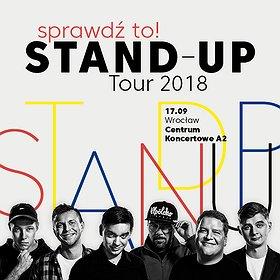 Bilety na Sprawdź to! Stand-up Tour 2018 - Wrocław