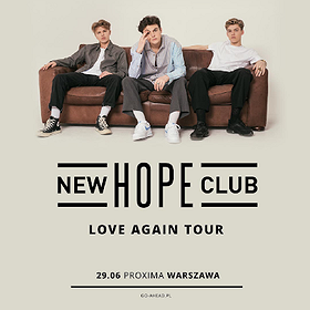 Koncerty: New Hope Club