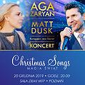 "Aga Zaryan i Matt Dusk ""Christmas Songs"""