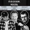 Stand-up Reszel: Jurkiewicz x Kołecki x Brudzewski