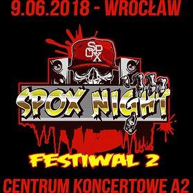Bilety na Spox Night Festiwal 2