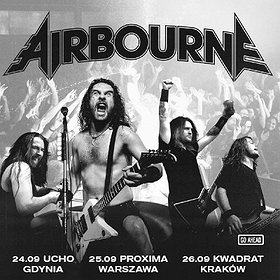 Hard Rock / Metal: Airbourne - Kraków